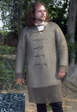 Hauberk- Full Sleeves Chainmail Shirt