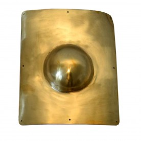 Murmillo/Secutor shield boss (brass)