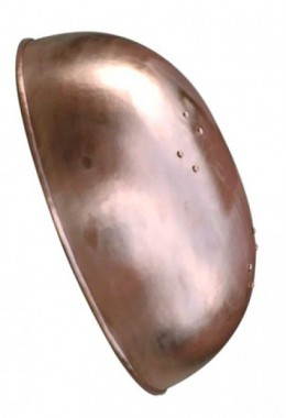 Deep bronze bowl shields