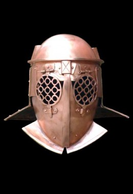 Provocator Helmet in 1.6 mm Bronze