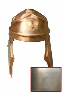 ITALIC A Helmet in 1.6 mm Tinned Steel