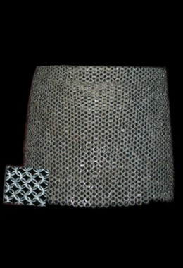 Skirt - High Tensile Wire Butted Round Rings Chainmail