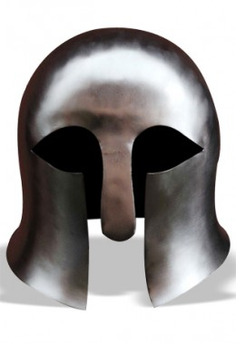 Early Greek cornithian helmet - Tinned Steel