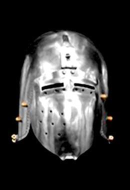 Klappviser Bascinet Helmet