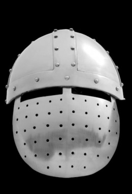 Crusader Faceplate helmet - 12th Century