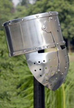 Crusader Bucket helmet