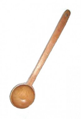 Medieval Wooden Spoon