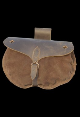 15th Century Medieval Leather Pouch
