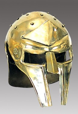 Gladiator Are Helmet with Rivets