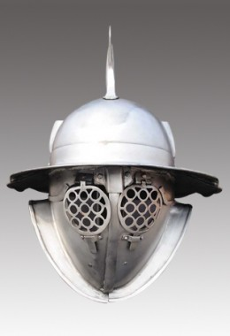 Hoplomachus Helmet in 1.6 mm Tinned Steel