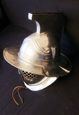 Murmillo Helmet - 1.6 mm Tinned Steel