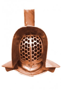 Murmillo Helmet in 1.6 mm Bronze